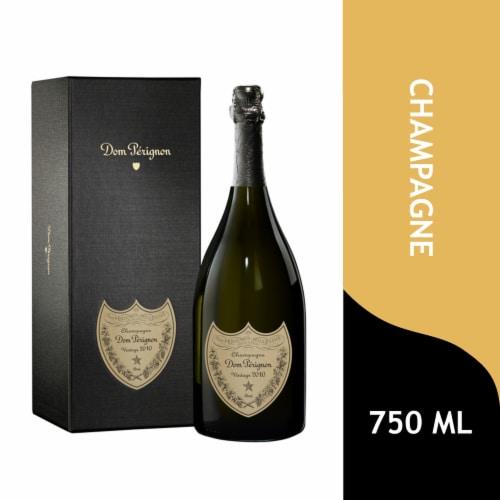 Dom Perignon Vintage Champagne Perspective: front
