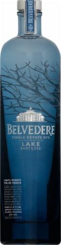 Belvedere Lake Bartezek Single Estate Rye Unflitered Polish Vodka Perspective: front