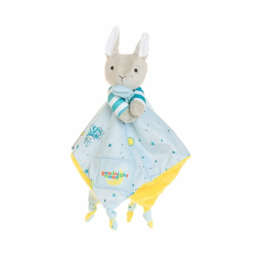 """Kids Preferred Classic """"Goodnight Moon"""" Blanky and Rabbit Perspective: front"""