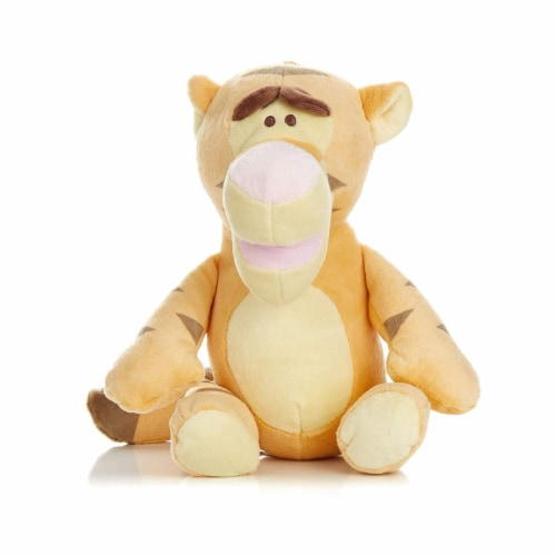 Disney Plush, Tigger with Rattle Perspective: front