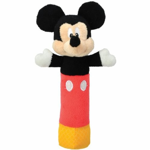 Disney Baby, Mickey Mouse Stick Rattle Perspective: front