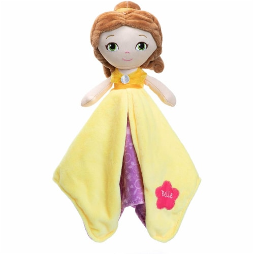 """Disney Princess Belle Blanky Plush, 12"""" Perspective: front"""