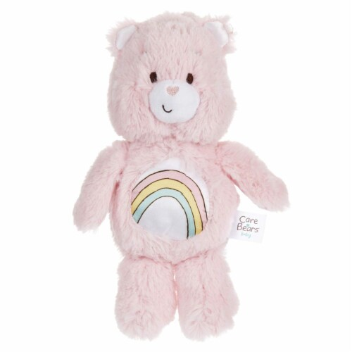 Care Bears Bean Bag Toy Rattle, Cheer Bear Perspective: front