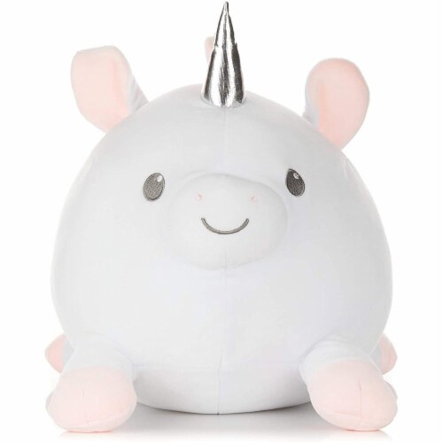 Kids Preferred 90840 Cuddle Pal Round Large Unicorn, Multicolor Perspective: front