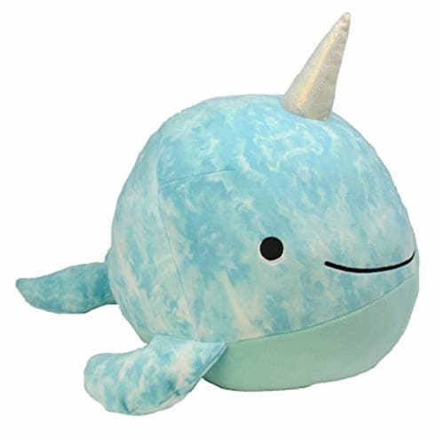 Kids Preferred Cuddle Pal Small Huggable, Indigo The Narwhal Perspective: front