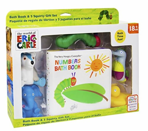 "Kids Preferred The Very Hungry Caterpillar ""Numbers Bath Book"" Perspective: front"