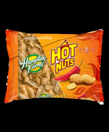 Hampton Farms Hot Nuts Peanuts Perspective: front