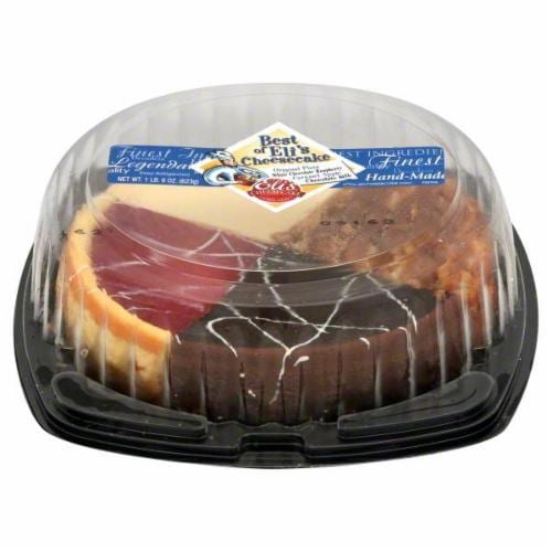 Eli's Best Of Eli's Cheesecake Sampler Perspective: front