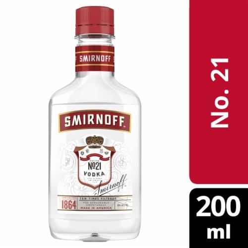 Smirnoff Red Label Vodka Perspective: front