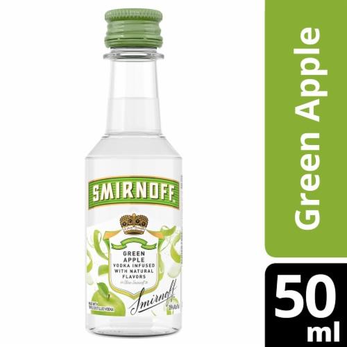 Smirnoff Green Apple Vodka Perspective: front