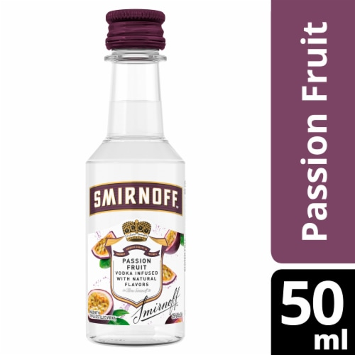 Smirnoff Passion Fruit Vodka Perspective: front