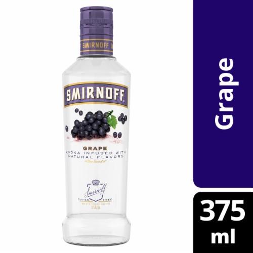 Smirnoff White Grape Vodka Perspective: front