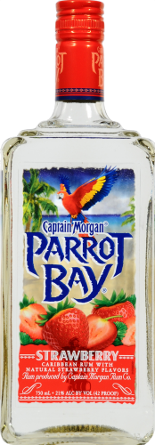 Captain Morgan Strawberry Rum Perspective: front
