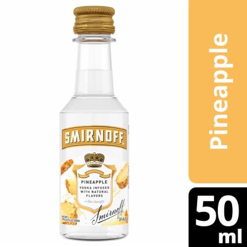 Smirnoff Pineapple Vodka Perspective: front
