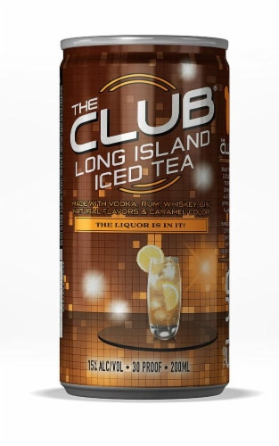 The Club Long Island Iced Tea Perspective: front