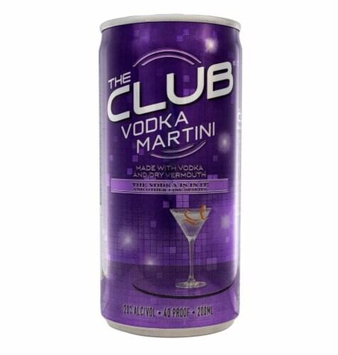 The Club Vodka Martini Perspective: front