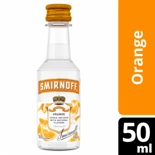 Smirnoff Orange Vodka Perspective: front