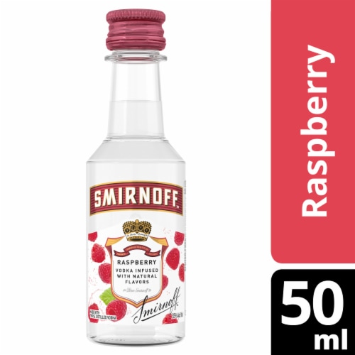 Smirnoff Raspberry Vodka Perspective: front
