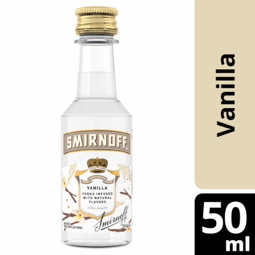 Smirnoff Vanilla Vodka Perspective: front