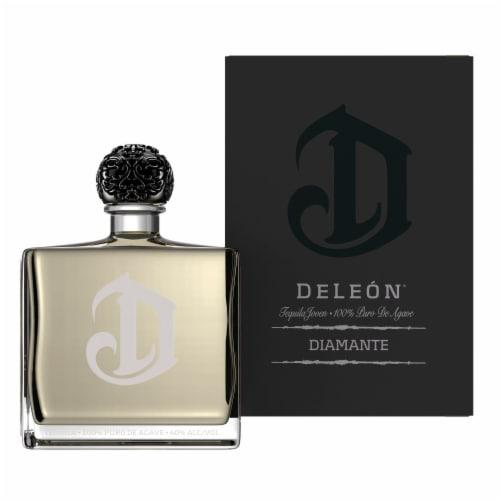 DeLeon Diamante Tequila Perspective: front