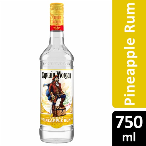 Captain Morgan Caribbean Pineapple Rum Perspective: front