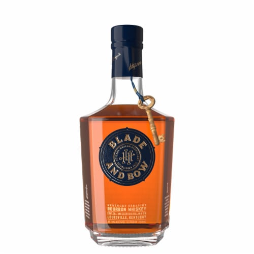 Blade and Bow Kentucky Straight Bourbon Whiskey Perspective: front