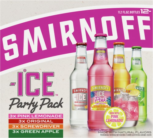 Smirnoff Ice Party Pack Perspective: front