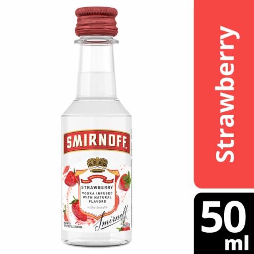 Smirnoff Strawberry Vodka Perspective: front