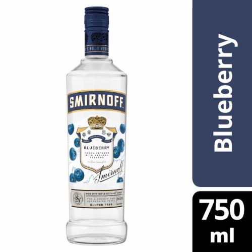 Smirnoff Blueberry Vodka Perspective: front