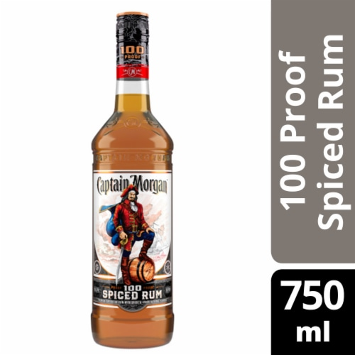 Captain Morgan Spiced Rum Perspective: front