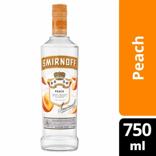 Smirnoff Peach Vodka Perspective: front