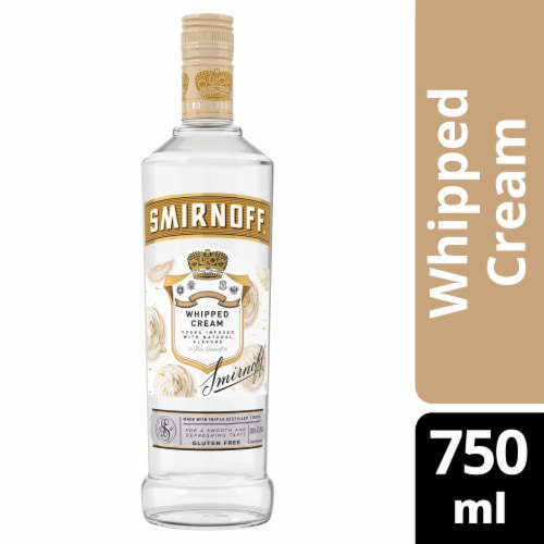Smirnoff Whipped Cream Vodka Perspective: front