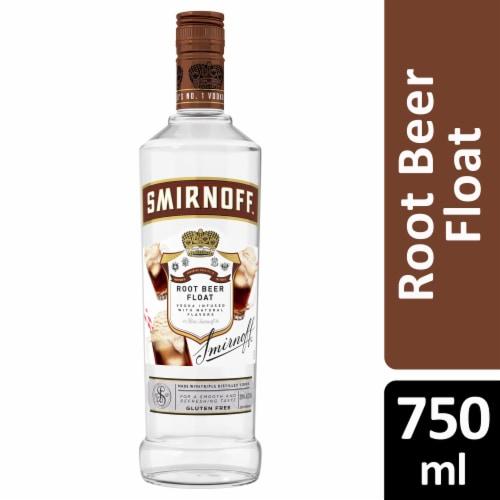 Smirnoff Root Beer Float Vodka Perspective: front
