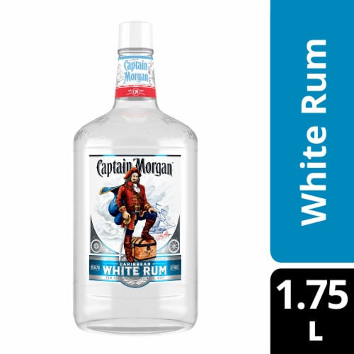 Captain Morgan White Rum Perspective: front