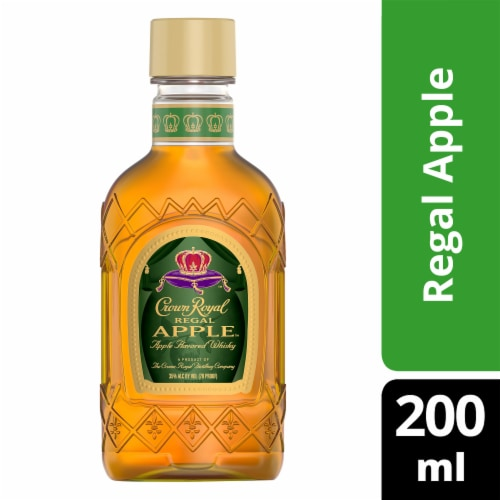 Crown Royal Regal Apple Flavored Whisky Perspective: front