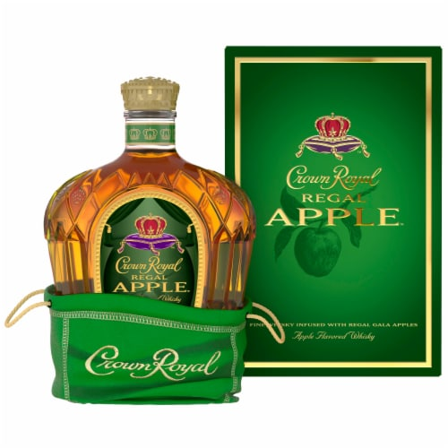 Crown Royal Regal Apple Flavored Canadian Whisky Perspective: front