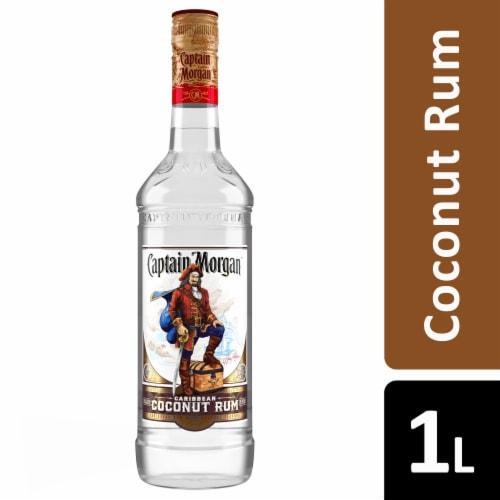Captain Morgan Caribbean Coconut Rum Perspective: front