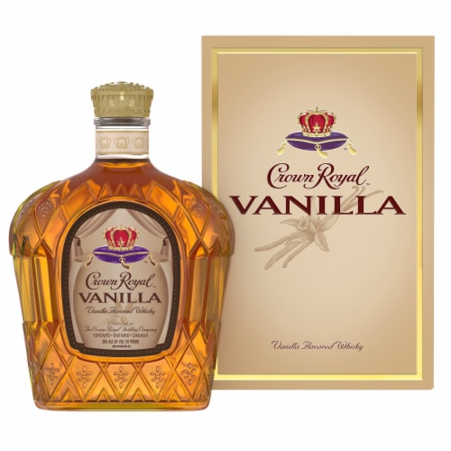 Crown Royal Vanilla Flavored Canadian Whisky Perspective: front