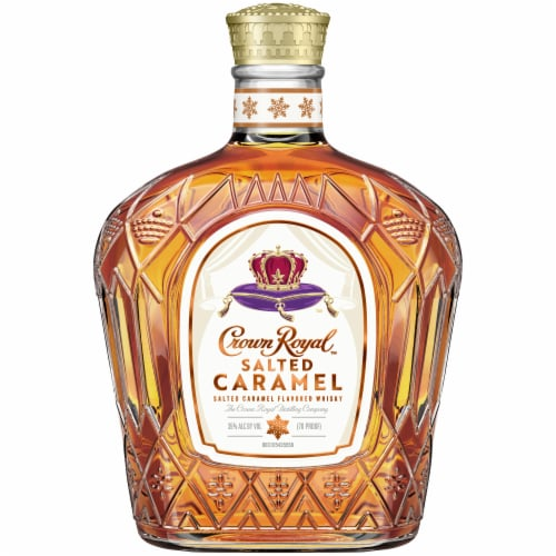 Crown Royal Salted Caramel Flavored Canadian Whisky Perspective: front