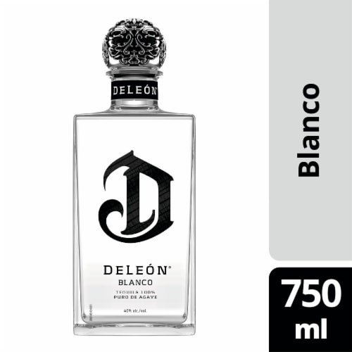 DeLeon Blanco Tequila Perspective: front