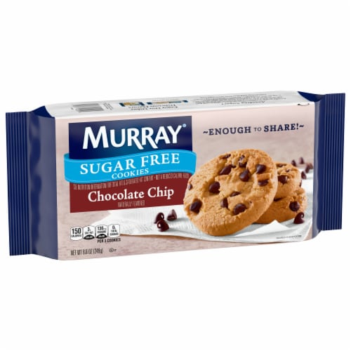Murray Sugar Free Chocolate Chip Cookies Perspective: front