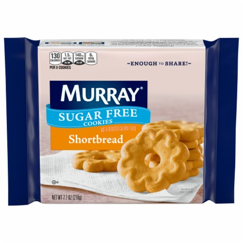 Murray Sugar Free Shortbread Cookies Perspective: front