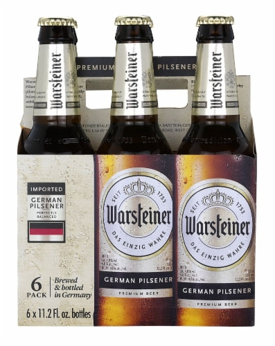 Warsteiner German Pilsener Perspective: front