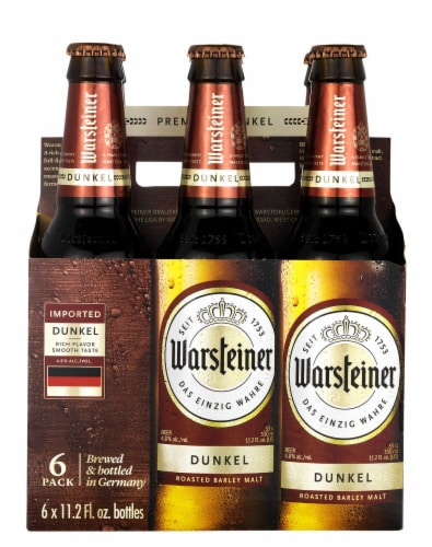 Warsteiner Premium Dunkel Perspective: front