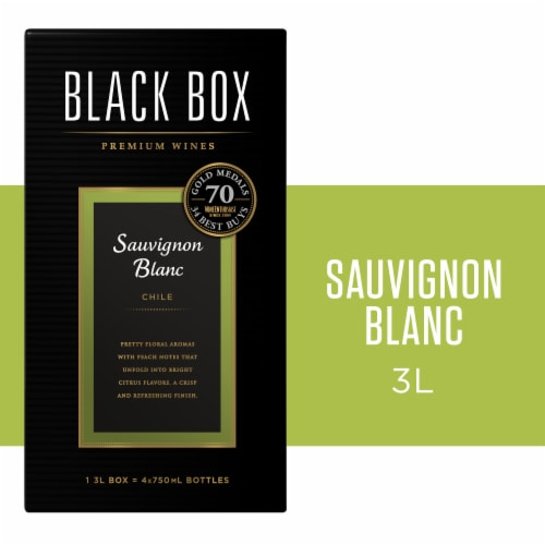 Black Box Sauvignon Blanc White Wine Perspective: front
