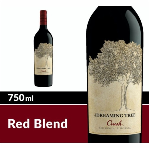 The Dreaming Tree Crush Red Wine Perspective: front