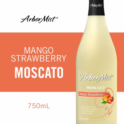 Arbor Mist Mango Strawberry Moscato White Wine Perspective: front
