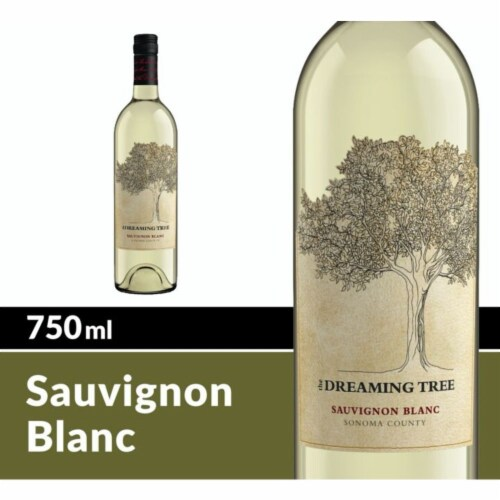 The Dreaming Tree Sauvignon Blanc White Wine Perspective: front
