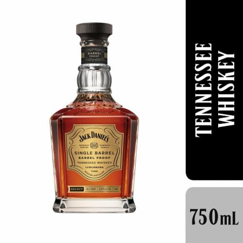Jack Daniel's Single Barrel Barrel Proof Tennessee Whiskey Perspective: front