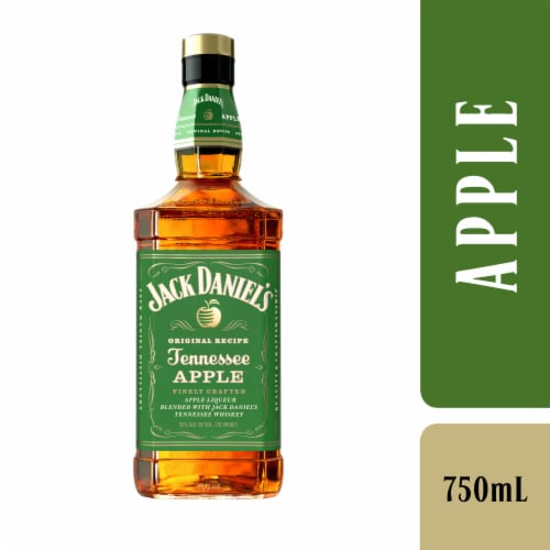 Jack Daniel's Tennessee Apple Tennessee Whiskey Perspective: front